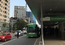 Xe buýt nhanh Hà Nội chạy miễn phí một tháng