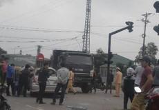 Xe Chủ nhiệm Uỷ ban kiểm tra tỉnh uỷ Quảng Trị bị tai nạn
