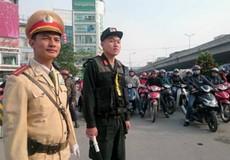Cảnh sát sẽ ứng trực 24/24h tại nhiều tuyến đường Hà Nội