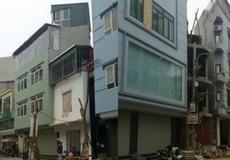 Hà Nội còn 132 nhà 'siêu mỏng', 'siêu méo'