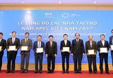 Tài trợ cho Hội nghị APEC đạt mức kỷ lục