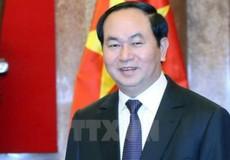 Chủ tịch nước Trần Đại Quang gửi hoa chúc mừng hai nhà giáo