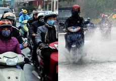 Hôm nay không khí lạnh tăng cường, miền Bắc rét đậm, miền Trung lại mưa lớn