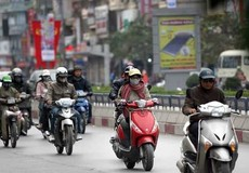 Đầu tuần Hà Nội có mưa, nhiệt độ nhích lên vài ngày rồi rét đậm
