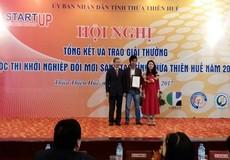 """Trao giải cuộc thi """"Khởi nghiệp đổi mới sáng tạo"""" tỉnh Thừa Thiên Huế năm 2017"""
