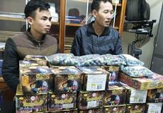Mua gần 100kg pháo từ Lào về bán kiếm lời