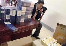 Thu giữ gần 1000 gói thuốc lá lậu và 2,5 tấn hoa quả Trung Quốc