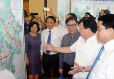 Hà Nội đang triển lãm Quy hoạch giao thông vận tải tại Mỹ Đình
