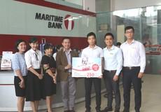 """Maritime Bank trao giải thưởng """"Hạnh phúc trọn vẹn"""" và """"Hiện thực giấc mơ"""""""