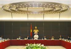 Thủ tướng làm việc với các Bộ, ngành xử lý kiến nghị của doanh nghiệp