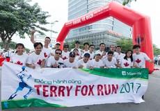 Manulife Việt Nam đóng góp gần 200 triệu đồng cho Quỹ Terry Fox