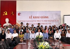 Phát triển đội ngũ luật sư phục vụ yêu cầu hội nhập quốc tế: Triển khai đồng bộ các đề án về đào tạo