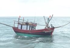 Quảng Ngãi: Tàu cá hỏng máy trên biển, 11 ngư dân gặp nạn