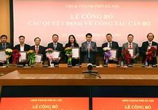 Hà Nội bổ nhiệm nhiều cán bộ chủ chốt