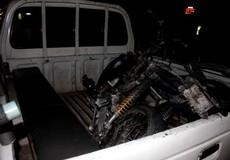 Xe máy, trụ điện bất ngờ bốc cháy trong đêm