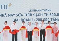 Hai thủ tướng tham dự lễ khánh thành nhà máy sữa tươi TH