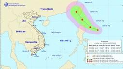 Xuất hiện áp thấp nhiệt đới có khả năng mạnh lên thành bão trên biển Đông