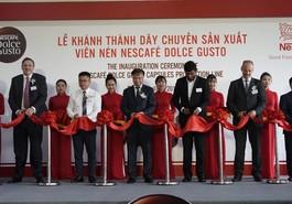 Nestlé Việt Nam khánh thành dây chuyền sản xuất viên nén NESCAFÉ Dolce Gusto