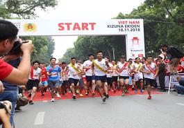 Toyota Việt Nam đồng hành cùng Giải chạy tiếp sức Kizuna Ekiden 2018