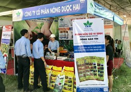 Nông dược HAI giới thiệu sản phẩm nông nghiệp hữu cơ tại hội chợ sản phẩm nông lâm thủy sản duyên hải Nam Trung Bộ 2018