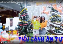 Giới trẻ đua nhau check in giáng sinh tại Sun World Danang Wonders