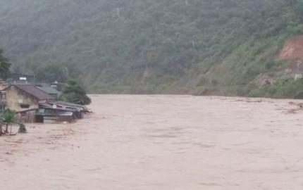 1 người chết, 2 người mất tích do mưa lớn ở Nghệ An