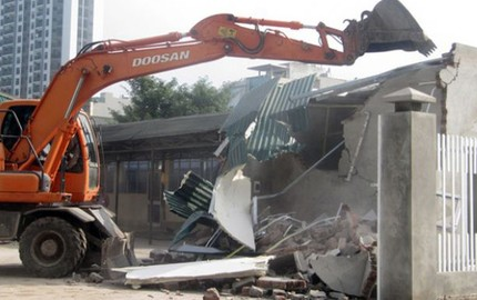 Chủ tịch Hà Nội yêu cầu cưỡng chế vi phạm trật tự xây dựng