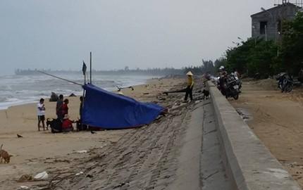 Tìm thấy thi thể ngư dân mất tích trên biển