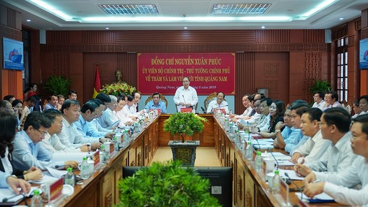 Thủ tướng: Quảng Nam phải tăng gấp đôi quy mô kinh tế trong 5 năm