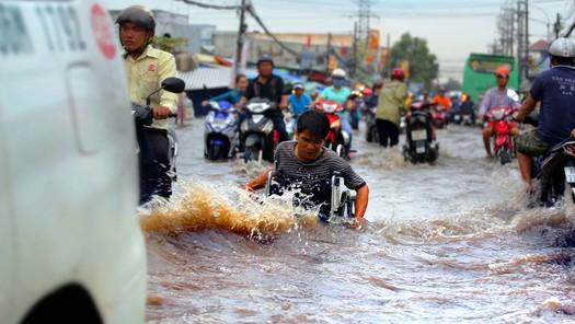 Mùa mưa này TP HCM có giảm ngập úng?