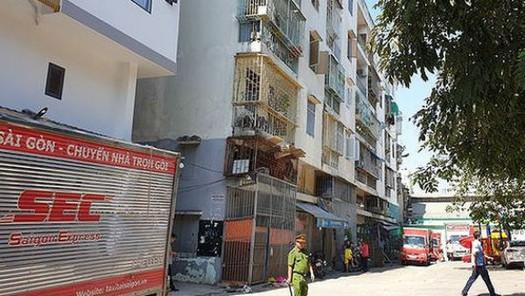 TP Hồ Chí Minh đồng ý phương án xây mới chung cư nghiêng, lún