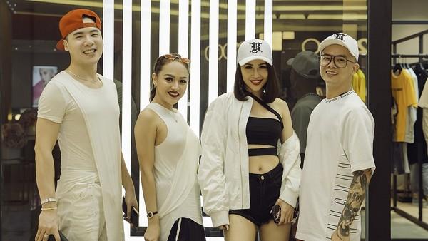 Hàng loạt ca sĩ, DJ và stylist đổ bộ tại Hà Nội