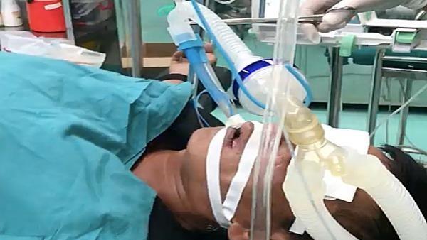 Người đàn ông dùng miệng hút dầu diesel bị sặc suýt chết