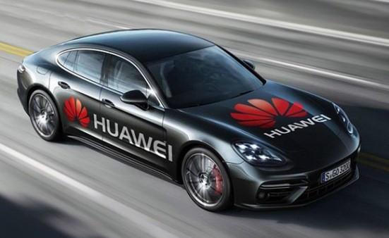"""Huawei chọn """"đứng sau"""" những chiếc xe hơi số"""