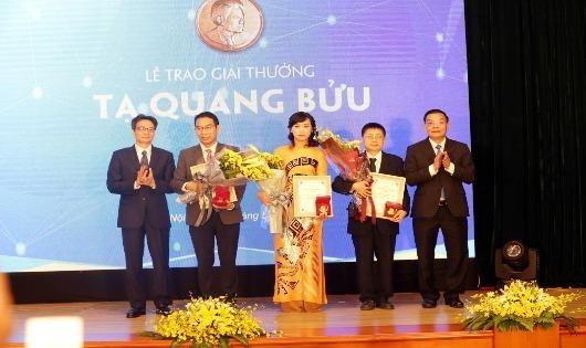 Ba nhà khoa học được tôn vinh Giải thưởng Tạ Quang Bửu 2019