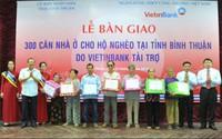 """VietinBank trao 300 căn nhà """"cứng"""" cho người nghèo Bình Thuận"""