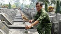 Bi tráng, nghẹn ngào bên nghĩa trang quốc gia Vị Xuyên