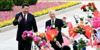 Trưa nay, Chủ tịch TQ Tập Cận Bình đến Hà Nội