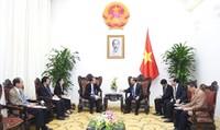 Thủ tướng tiếp trưởng đại diện tổ chức xúc tiến thương mại Nhật Bản tại Việt Nam