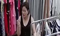 Dụ nhân viên thử đồ giúp, 'bà bầu' lấy sạch tiền ở cửa hàng, bỏ lại bộ váy cũ