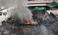 2 vụ cháy lớn liên tiếp xảy ra trong đêm