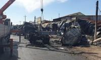 Tốc độ kinh hoàng của xe bồn chở xăng trước khi gây tai nạn làm cháy 19 căn nhà, 6 người tử vong
