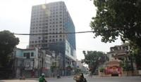 Chiều cao tòa nhà 8B Lê Trực chưa vượt mức Bộ Quốc phòng cho phép