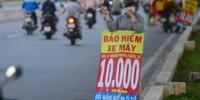 'Bảo hiểm xe máy 10.000 đồng' thực chất là cái gì?