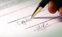 Xác nhận ký ủy quyền