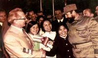Dưới bầu trời Berlin, tấm lòng Fidel Castro vẫn nặng tình, nặng nghĩa với Việt Nam