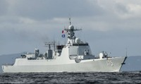 Trung Quốc điều tàu chiến tối tân tập trận với Nga