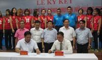 """Dược phẩm Kingphar cùng đội bóng chuyền nữ """"Kingphar Quảng Ninh"""" hứa hẹn 1 mùa giải chuyên nghiệp thành công"""
