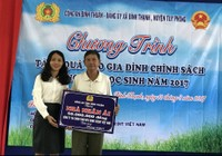 Home Credit đến với bà con nghèo tỉnh Bình Thuận