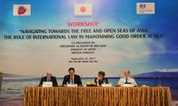 Thúc đẩy vai trò của luật pháp trong duy trì trật tự trên biển